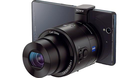 Sony Cyber-shot® DSC-QX100 A smartphone can serve as your viewfinder (phone not included)