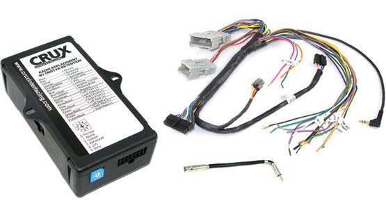 CRUX SOOGM-15 GM Wiring Interface Front