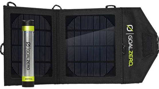 Goal Zero Switch 8 Solar Recharging Kit Front