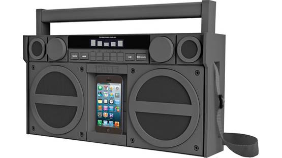 iHome iBT44 Gunmetal (smartphone not included)