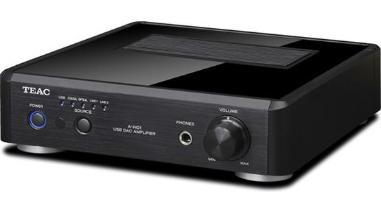 TEAC A-H01 Front (Black)
