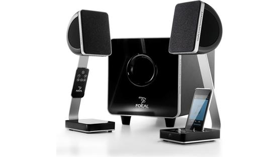 Focal XS® 2.1 Multimedia Sound System (Factory Refurbished) (iPod not included)