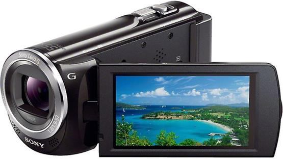 Sony Handycam® HDR-CX380 Front