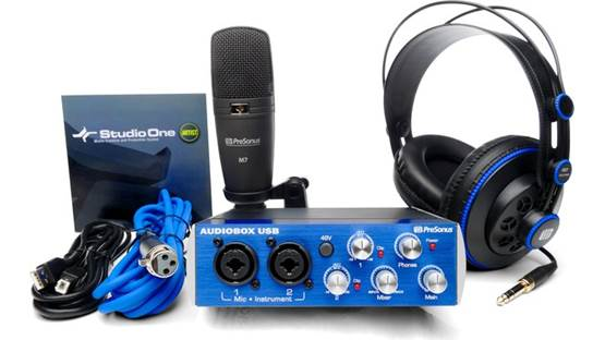 PreSonus AudioBox™ Studio Front