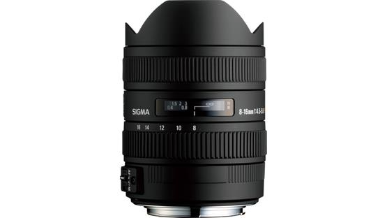 Sigma Photo 8-16mm f/4.5-5.6 DC HSM Front (Sigma mount)