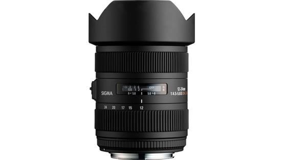 Sigma Photo 12-24mm f/4.5-5.6 II Lens Front (Sigma mount)