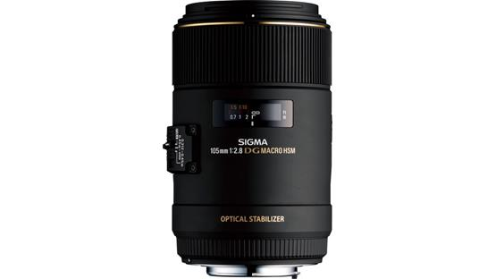 Sigma Photo 105mm f/2.8 Macro Lens Front (Sigma mount)