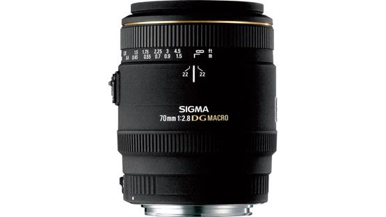 Sigma Photo 70mm f/2.8 Macro Lens Front (Sigma mount)