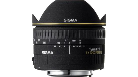 Sigma Photo 15mm f/2.8 Fisheye Lens Front (Nikon mount)