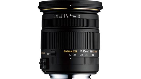 Sigma Photo 17-50mm f/2.8 EX DC OS HSM Front (Sigma mount)