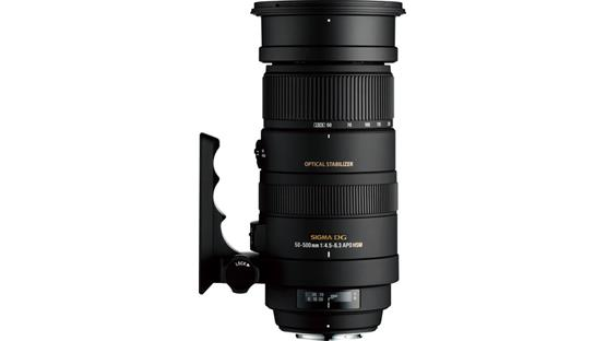 Sigma Photo 50-500mm f/4.5-6.3 Front (Canon mount)