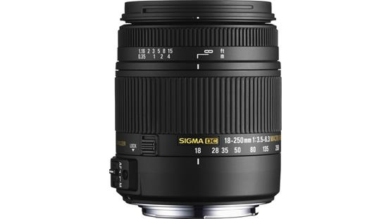 Sigma Photo 18-250mm f/3.5-6.3 DC OS HSM Front (Canon mount)