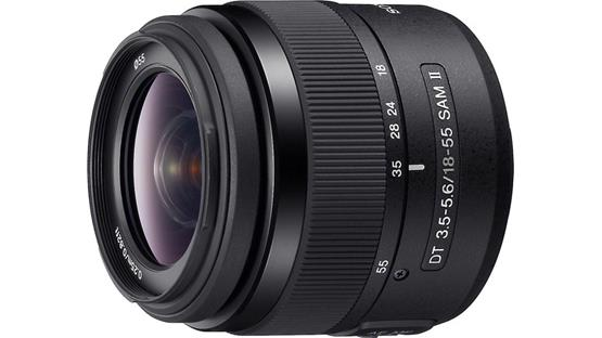 Sony SAL18552 DT 18-55mm f/3.5-5.6 Front