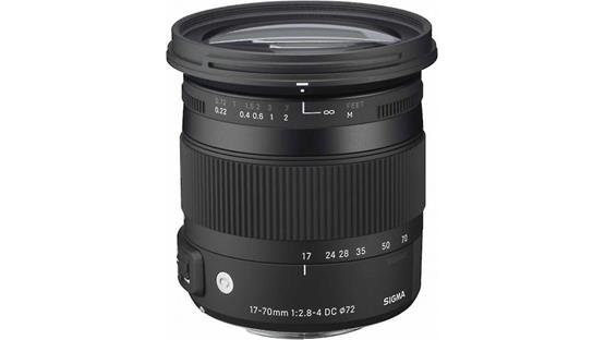 Sigma Photo 17-70mm f/2.8-4.0 DC Macro OS HSM | C Front