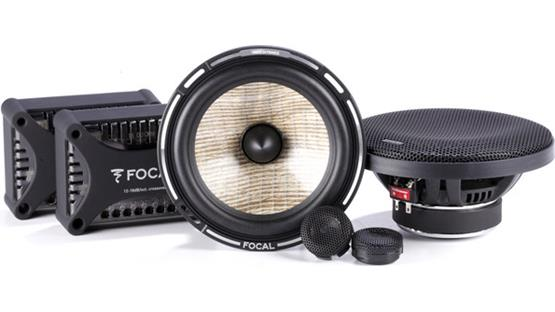 Focal Performance PS 165FX Focal's PS 165FX component speakers include flax cones, inverted dome tweeters, and bi-ampable crossovers