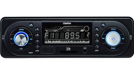 Clarion FZ150 Clarion FZ150 digital media receiver