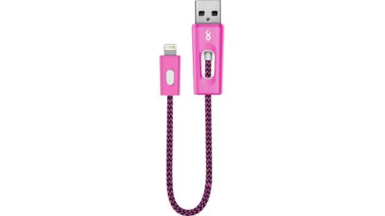 BlueFlame Charge + Sync Cable Pink