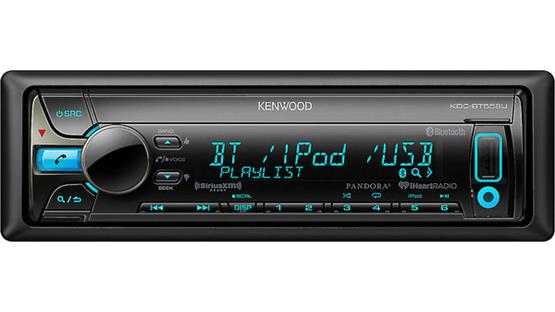Kenwood KDC-BT558U Enjoy hands-free calling and audio streaming using the built-in Bluetooth technology