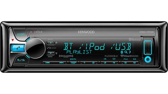 Kenwood Excelon KDC-X598 Enjoy hands-free calling and audio streaming using the built-in Bluetooth technology