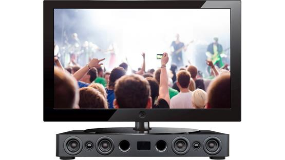 Speakercraft CS3 Supports most HDTVs (not included)
