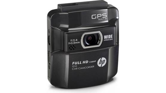 HP f210 Car Camcorder Front