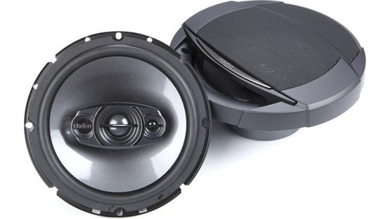Clarion SRQ1732R Clarion's strong woofer and 3-way design provide a great alternative for factory speakers