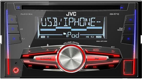 JVC KW-R710 Customize your display colors in three zones