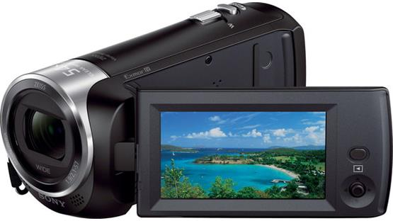 Sony Handycam® HDR-CX240 Front