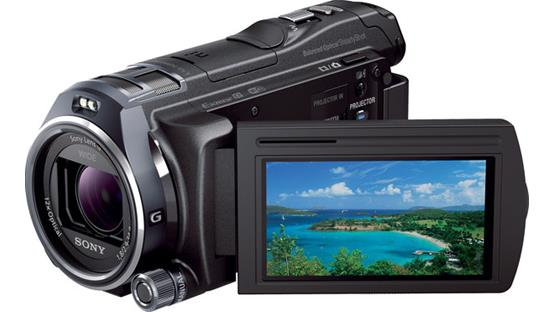 Sony Handycam® HDR-PJ810 Front