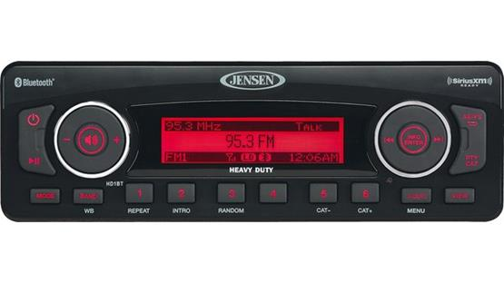 Jensen HD1BT Radio Impressions - Harley Davidson Forums