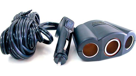 MAXSA 12-volt Power Adapter Front