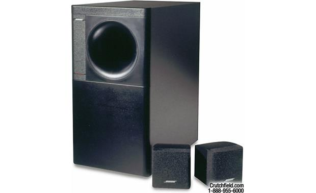 Bose Car Speakers >> Bose® Acoustimass® 3 Series IV (Black) Bose's most compact ...