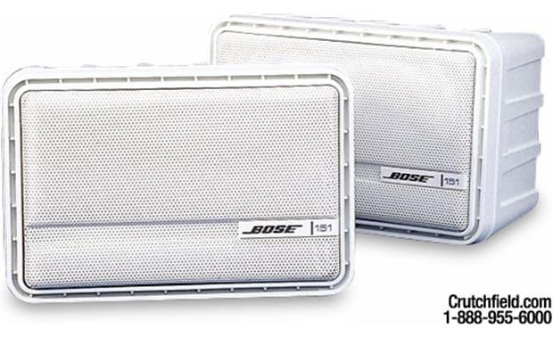 Bose 151 White Finish