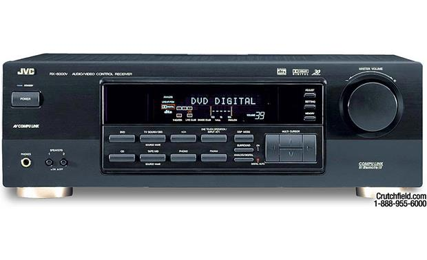 jvc rx 6000v a v receiver with dolby digital and dts at crutchfield com rh crutchfield com JVC Receiver RX 6008V Manual JVC RX-6000V Years Manufactured