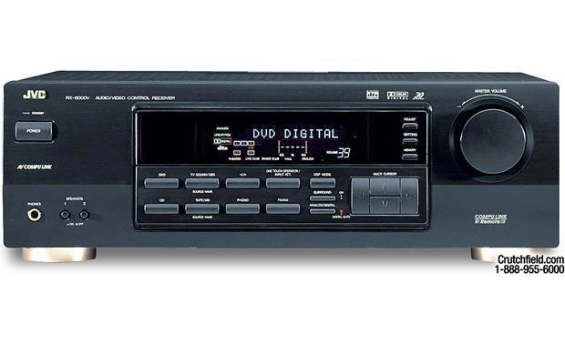 jvc rx 6000v a v receiver with dolby digital and dts at crutchfield com rh crutchfield com
