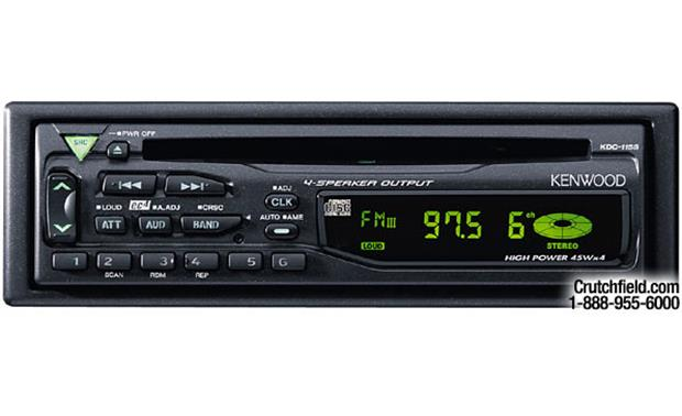 Kenwood KDC-115S Front