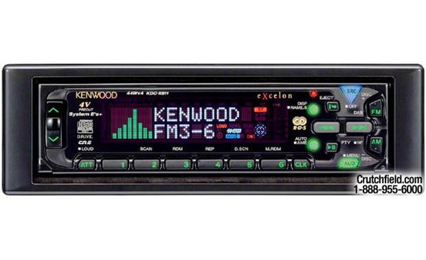 Kenwood eXcelon KDC-X811 CD Receiver with CD Changer