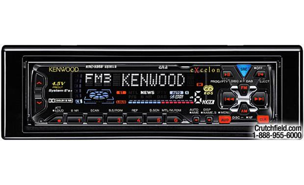 Kenwood Excelon KRC-X858 Front