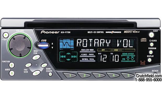 Pioneer DEH-P77DH Front