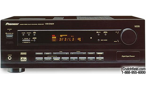 pioneer vsx v receiver with dolby digital and dts