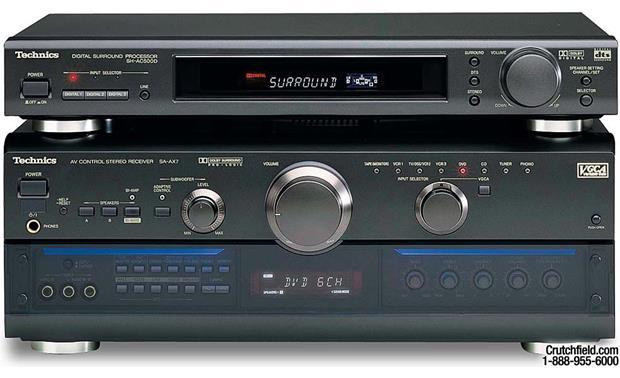 Technics SA-AX7 / SH-AC500 (Receiver/decoder combination