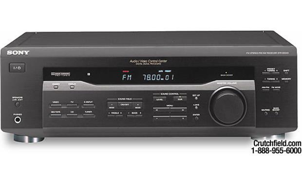 Sony STR-DE345 5 1-ready A/V receiver at Crutchfield