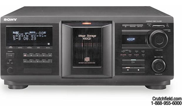 sony cdp cx450 400 cd changer at. Black Bedroom Furniture Sets. Home Design Ideas