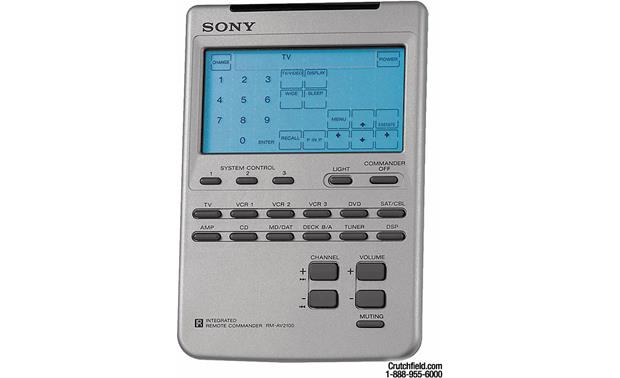 sony rm av2100 universal learning touchscreen a v remote at rh crutchfield com sony rm-av2100b manual Sony Products and Accessories
