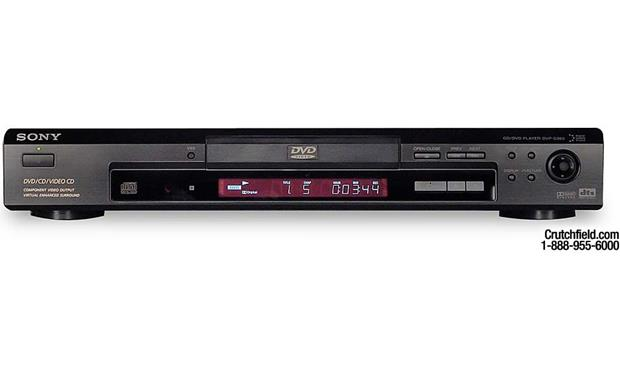 sony dvp s360 dvd cd player at crutchfield com rh crutchfield com Sony Tape Deck sony dvd player dvp-s360 manual