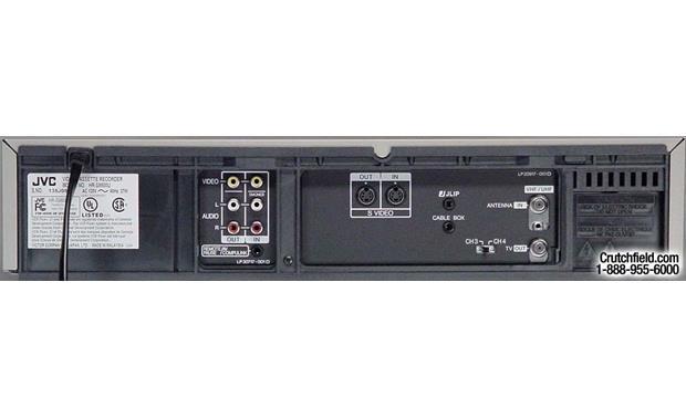 JVC HR-S9800 Super VHS HiFi VCR with editing at Crutchfield