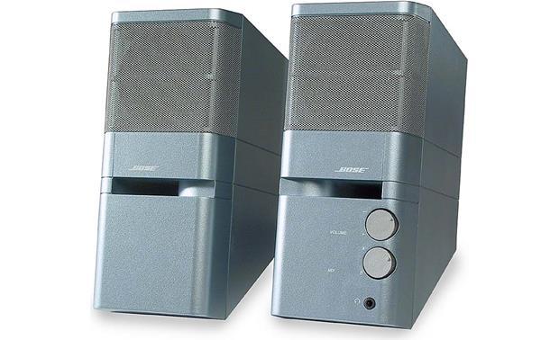 bose desktop speakers. bose® mediamate® ice blue bose desktop speakers