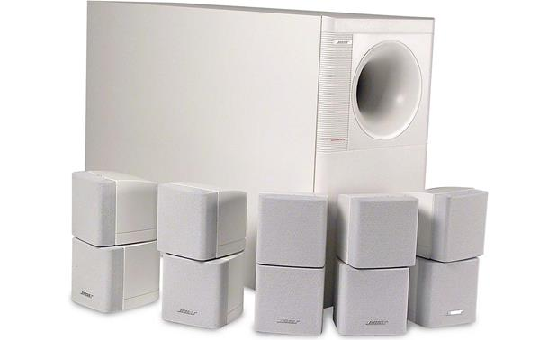 bose acoustimass 10 series ii white home theater. Black Bedroom Furniture Sets. Home Design Ideas