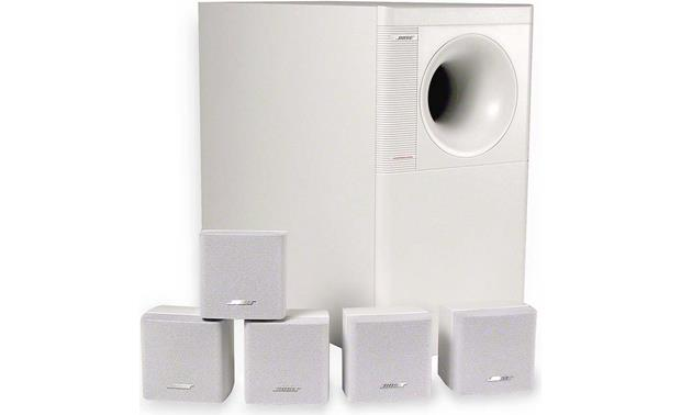 bose acoustimass 6 series ii white home theater. Black Bedroom Furniture Sets. Home Design Ideas
