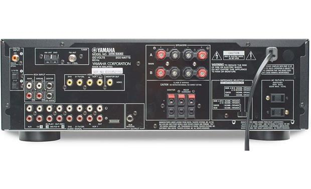 Yamaha HTR 5440 AV receiver with Dolby Digital and DTS at